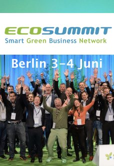 Green Start Up Diversität – Ecosummit 2014
