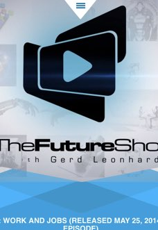 The Future Show – Work and Jobs