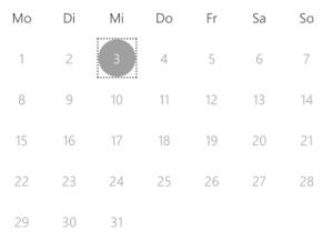 Kalender Microsoft Booking