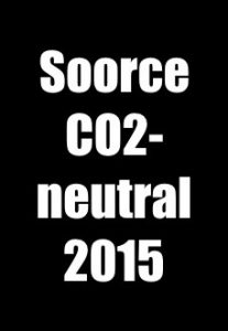 Soorce - CO2 neutral 2015