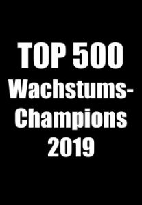 Soorce - Top 500 Wachstumschampions 2019